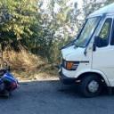 В Заліщицькому районі не розминулися мотоцикліст та маршрутка
